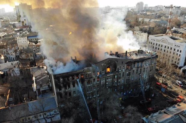 Число жертв пожара в Одессе снова увеличилось