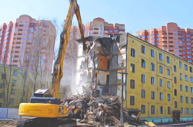 КГГА хочет снести 22 жилых дома